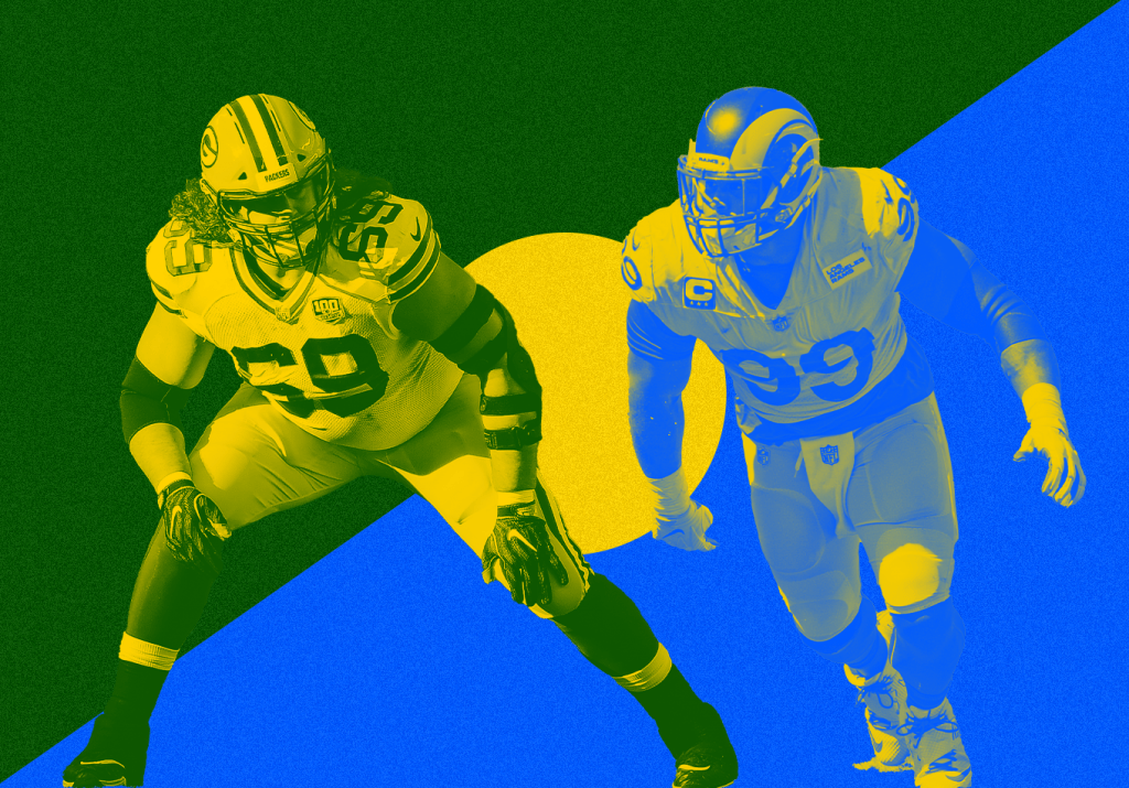 The NFL's Best at Generating Pressure and Stopping It During a Historic Passing Boom