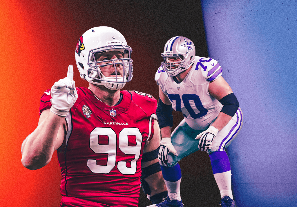 The Disruptors: A Look at Which Linemen Are the NFL's Best on Both Sides of the Run Game