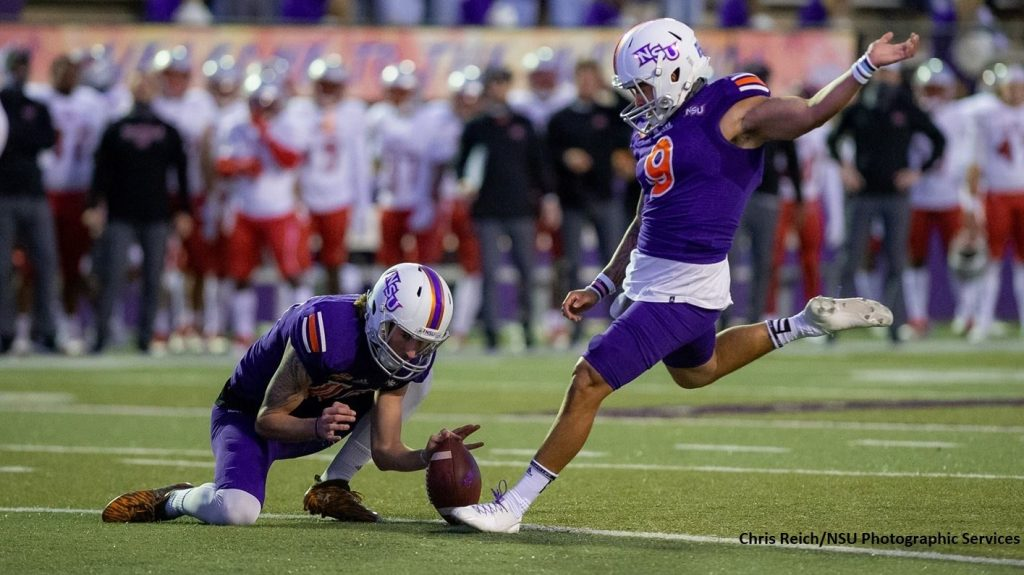 Northwestern State, Four Players Earn Stats Perform FCS National Week 9 Awards