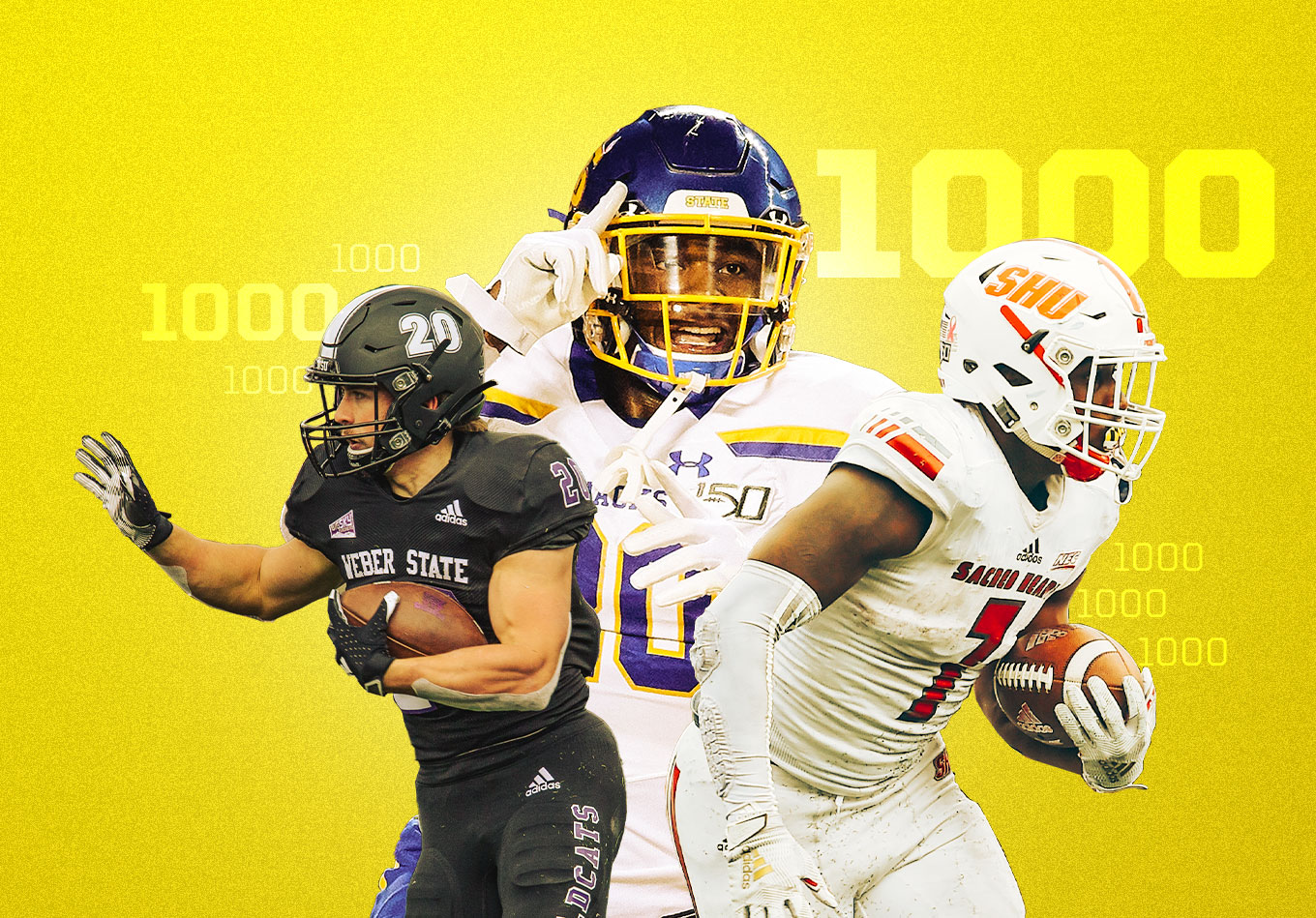 Even Walter Payton May Have Called This the Year of the Running Back in FCS