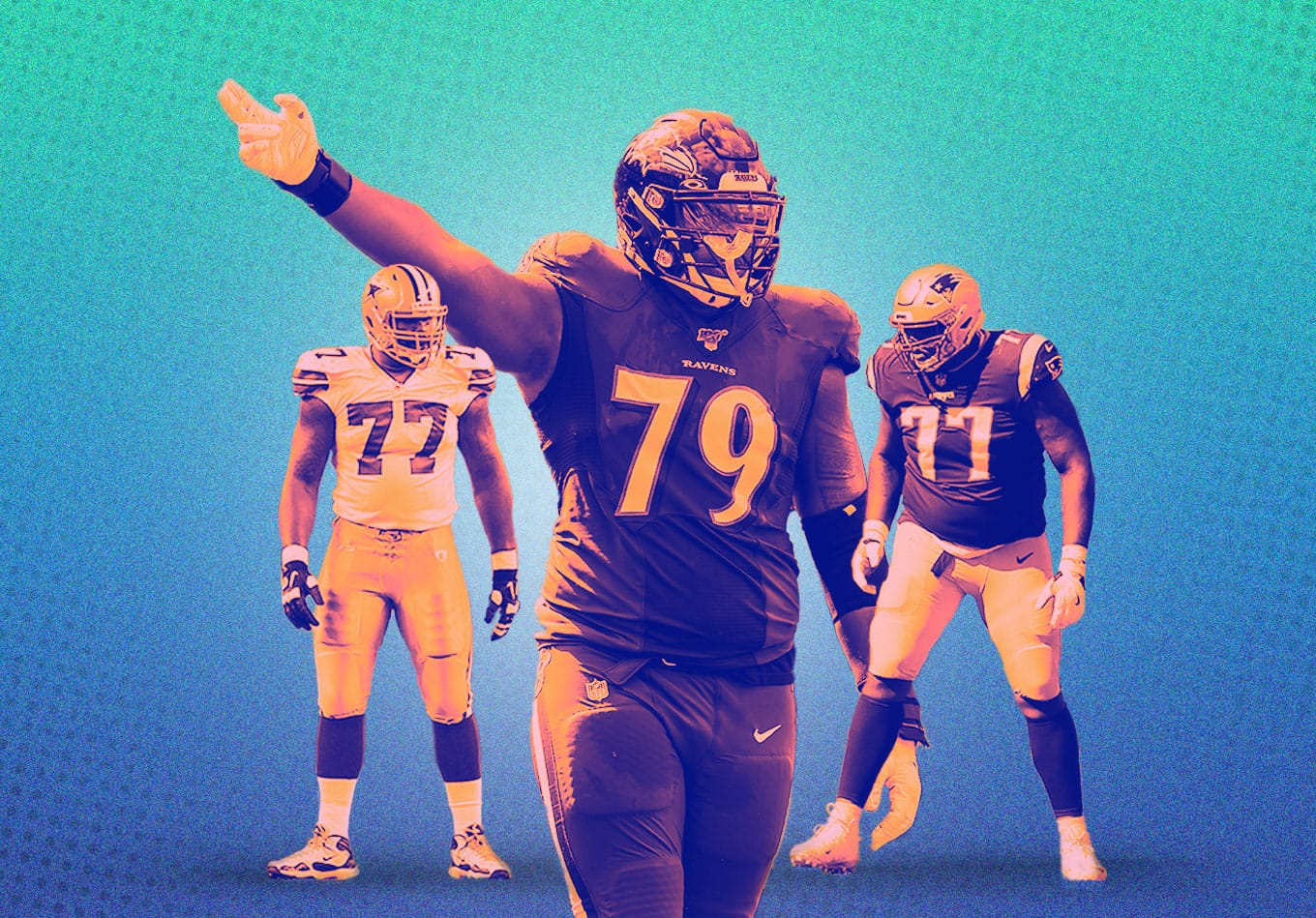 NFL Positional Rankings: The Best, Worst, and Most Improved Teams on the Offensive Line