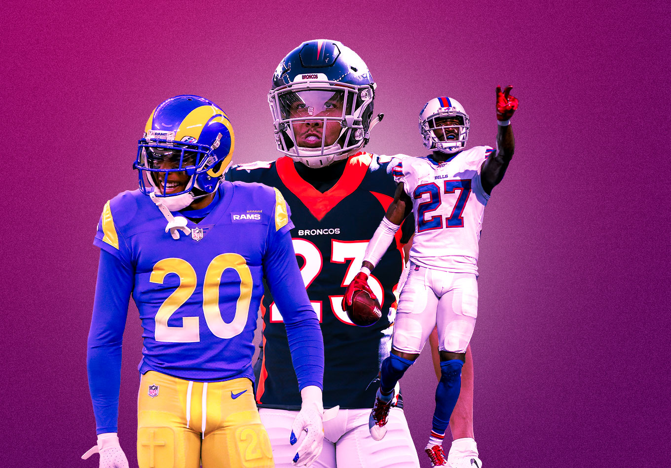 NFL Positional Rankings: The Best, Worst, and Most Improved Secondaries
