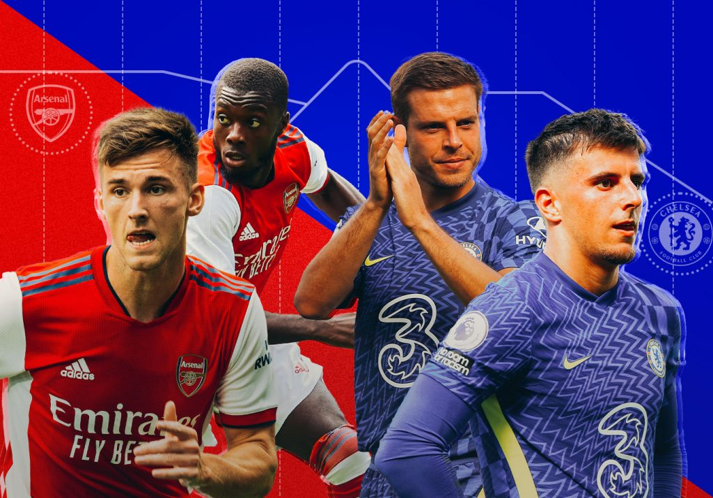 The Blueprint: Five Tactical Trends to Look out for in Arsenal vs. Chelsea