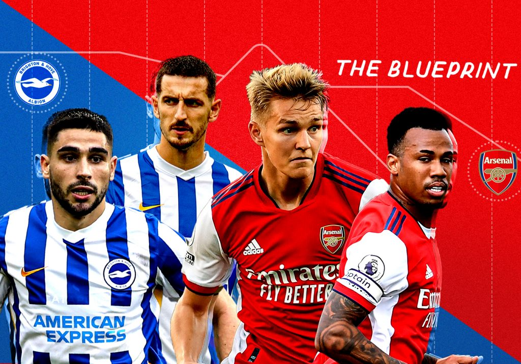 The Blueprint: Five Tactical Trends to Look out for in Brighton vs. Arsenal
